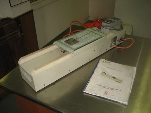 Picture of Coefficient Friction Tester